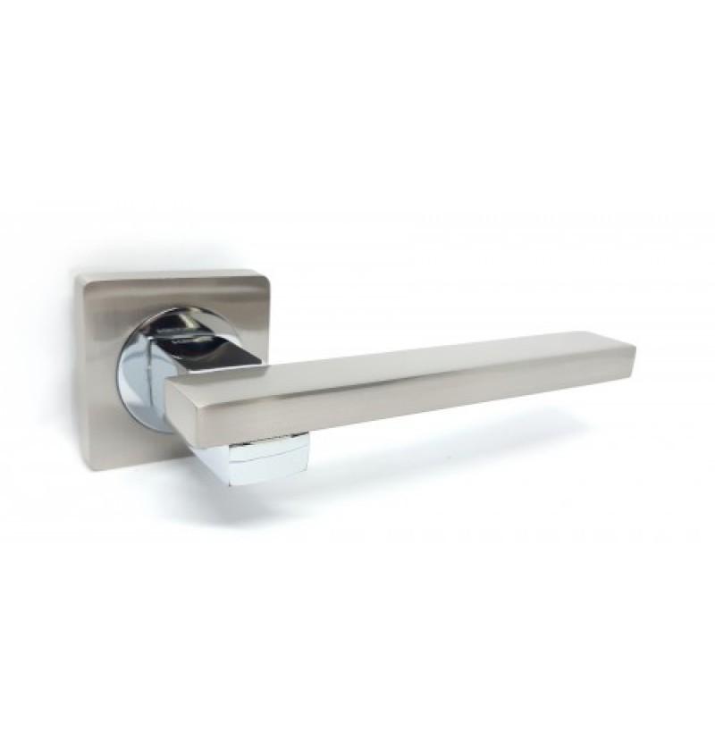 Ручка дверная Kedr R 08.150 AL-SN-CP
