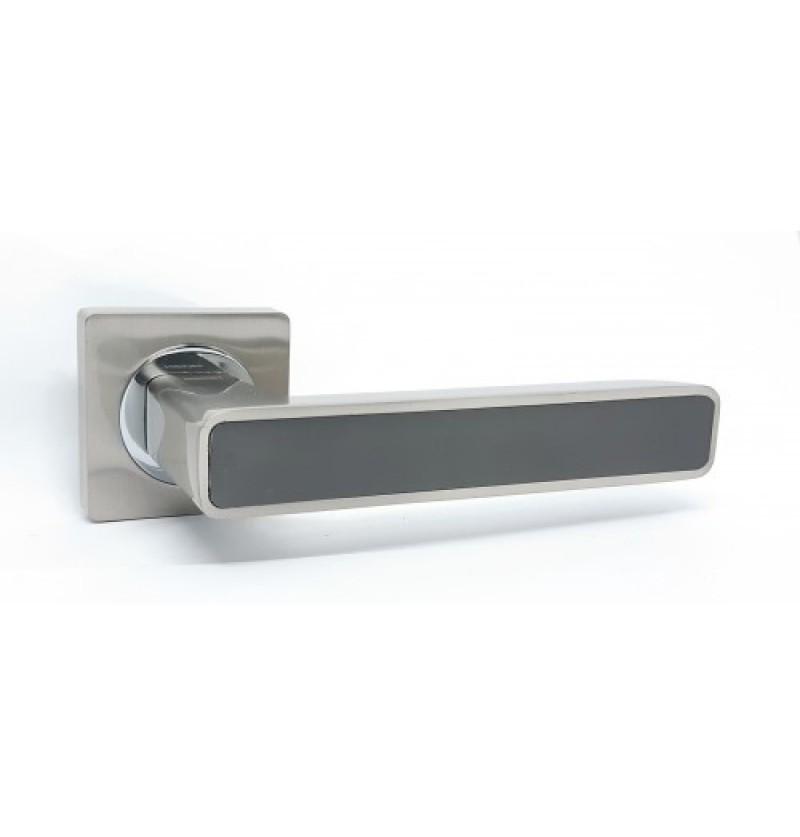 Ручка дверная Kedr R 08.820 AL-SN-CP- graffit
