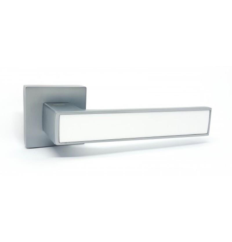 Ручка дверная Kedr R 62.810 AL-SC- white