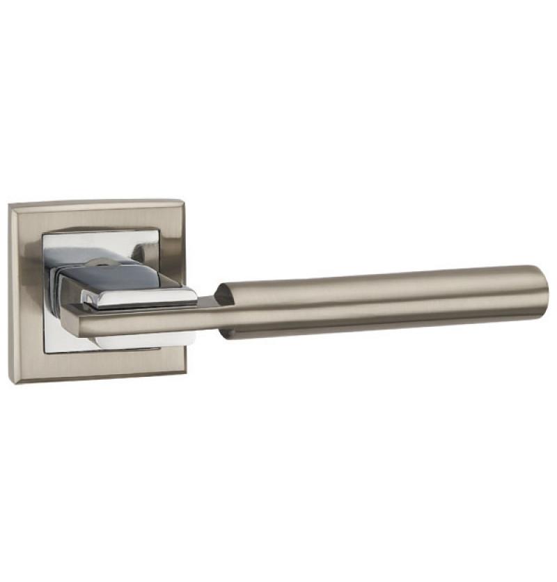 Ручка раздельная Punto (Пунто) CITY QL SN-CP-3 матовый никель-хром