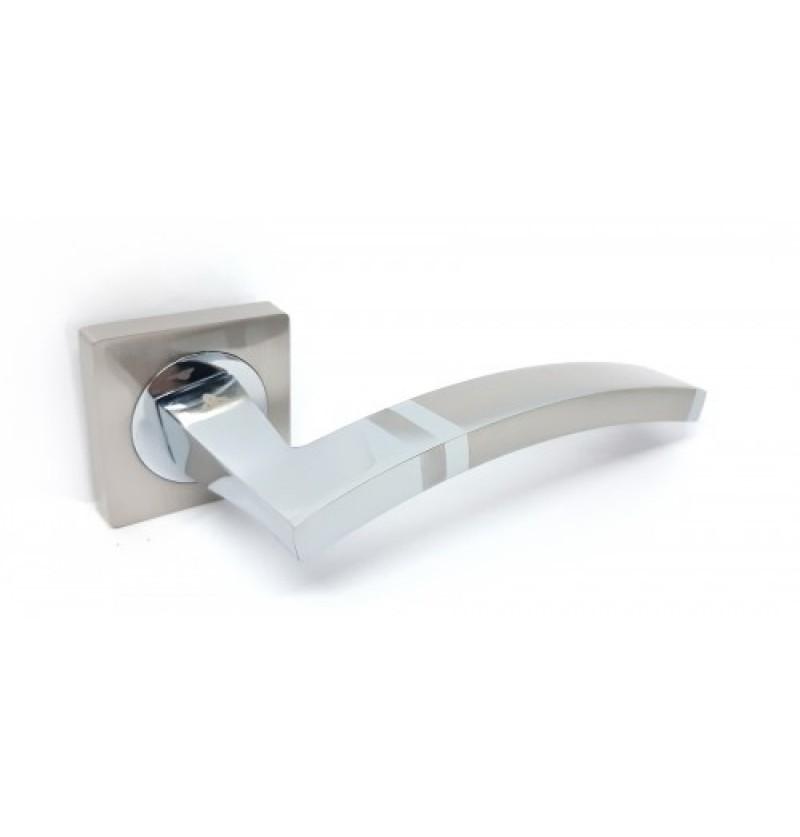Ручка дверная Kedr R 08.149 AL-SN-CP